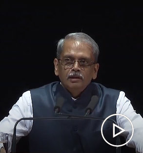 S. Gopalakrishnan announces the winner of the Infosys Prize 2019 in Physical Sciences