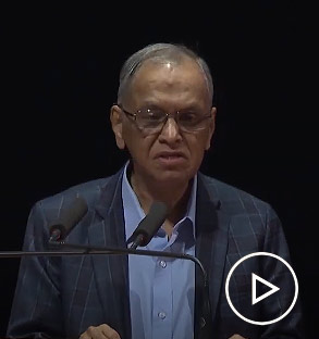 Narayana Murthy announces the winner of the Infosys Prize 2019 in Humanities