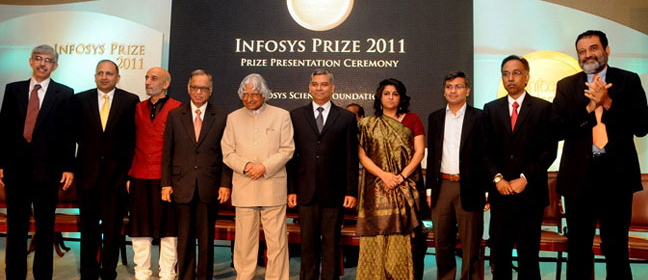 Infosys Prize - Past - 2011