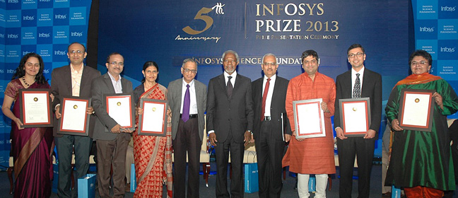 Infosys Prize - Past - 2013