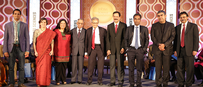 Infosys Prize - Past - 2014